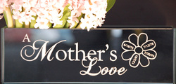 Mother's Day Custom Etched Vase